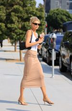 CHARLOTTE MCKINNEY Out for Ice Tea in Los Angeles 08/21/2020