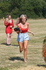 CHLOE MEADOWS on the Set of The Only Way is Essex 08/11/2020