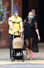 CHLOE SEVIGNY and Sinisa Mackovic Out in New York 08/02/2020