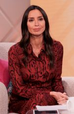 CHRISTINA LAMPARD at Lorraine TV Show in London 08/03/2020