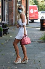CHRISTINE MCGUINNESS Out and About in Manchester 07/31/2020