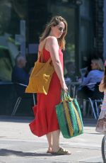 CLAIRE FOY Out Shopping in London 08/14/2020