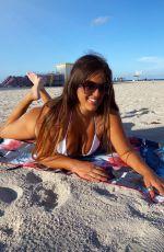CLAUDIA ROMANI in Bikini for Miami Problems in South Beach 08/09/2020