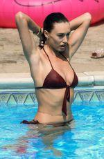 CLELIA THEODOROU in Bikini on the Set of TOWIE in Essex 08/10/2020
