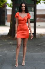 CLELIA THEODOROU on the Set of The Only Way is Essex 08/14/2020