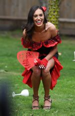 CLELIA THEODOROU on the Set of TOWIE in Essex 08/21/2020