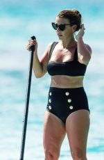 COLEEN ROONEY in Bikini at a Boat in Barbados 07/31/2020