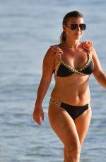 COLEEN ROONEY in Bikini on the Beach in Barbados 08/13/2020