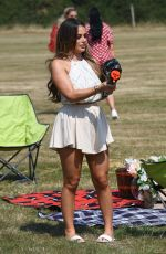 COURTNEY GREEN on the Set of The Only Way is Essex 08/11/2020