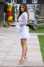 COURTNEY GREEN on the Set of TOWIE in Essex 08/21/2020