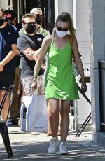 DAKOTA FANNIING Out and About in Los Angeles 08/29/2020