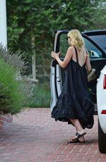 DAKOTA FANNING Leaves Her House in Los Angeles 08/04/2020