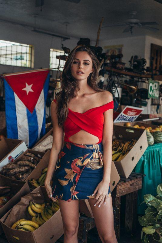 DANIELLA BECKERMAN at a Photoshoot, 2020