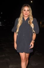 DEMI and CHLOE SIMS and GEORGIA KOUSOULOU Arrives at Sumosan Twiga in London 08/16/2020