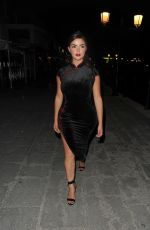 DEMI ROSE MAWBY Arrives at W Hotel Opening Night in Ibiza 08/06/2020