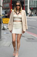 DEMI SIMS on the Set of The Only Way Is Essex in London 08/16/2020