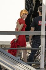 DIANA GOMEZ on the Set of Money Heist in Copenhagen 08/06/2020