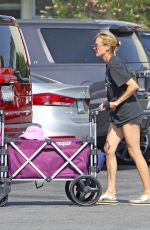 DIANE KRUGER Shopping at Farmers Market in Los Angeles 08/28/2020