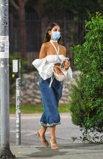 EIZA GONZALEZ Out and About in Los Angeles 08/14/2020