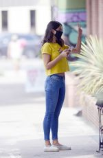EIZA GONZALEZ Out for a Coffee in Los Angeles 08/17/2020