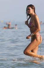 ELISABETTA GREGORACI in Bikini at a Beach in Forte Dei Marmi 08/23/2020