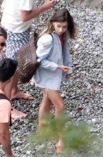 EMILIA CLARKE on Vacation in Italy 08/09/2020