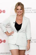 EMILY ATACK at Virgin Media British Academy Television Awards 2020 in London 07/31/2020