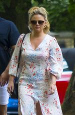 EMILY ATACK Out for Lunch at Flask Pub in Highgate 08/02/2020