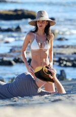 EMILY RATAJKOWSKI in Bikini at a Beach in Miami 08/04/2020