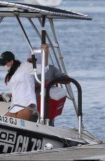 EMILY RATAJKOWSKI on a Boat in Long Island 08/12/2020