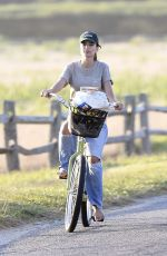 EMILY RATAJKOWSKI Out for a Bike Ride in The Hamptons 08/05/2020