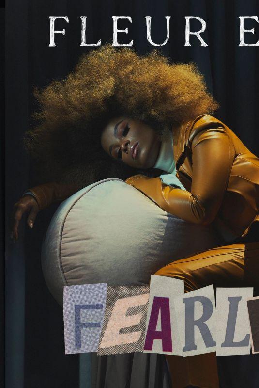 FLEUR EAST - Fearless Album Cover, 2020