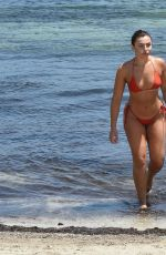 FRANCESCA ALLEN in Bikini at a Beach in France 08/12/2020