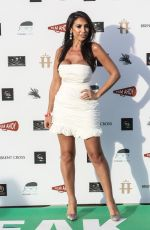 FRANCINE LEWIS at Break Drive-in World Premiere at Brent Cross Shopping Centre in London 07/22/2020