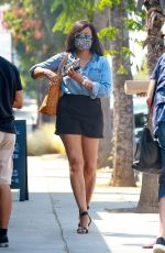 GARCELLE BEAUVAIS at Sweet Butter Kitchen in Sherman Oaks 08/20/2020