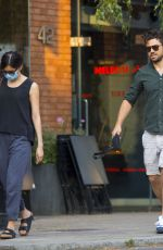 GEMMA CHAN and Dominic Cooper Out Shopping in London 08/12/2020