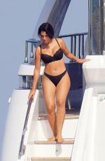 GEORGINA RODRIGUEZ in Bikini at a Yacht in France 08/13/2020