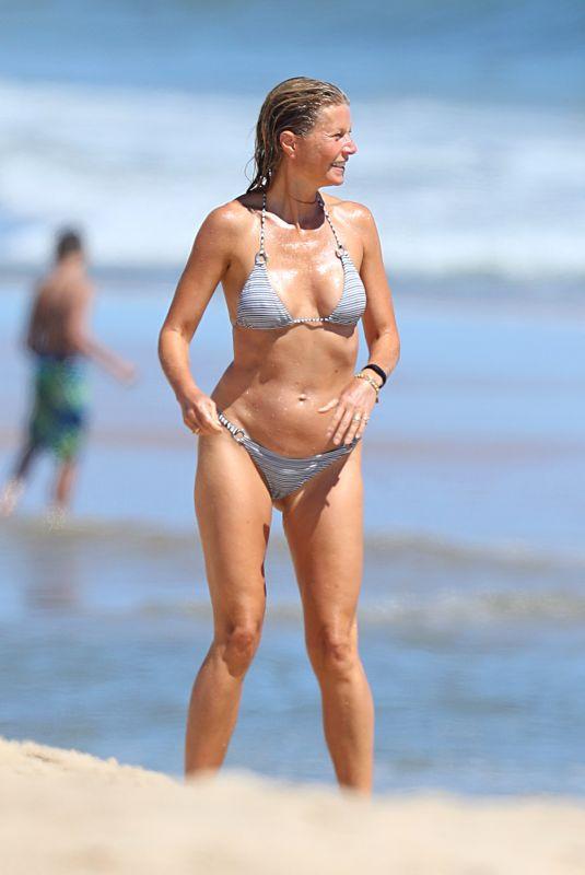 GWYNETH PALTROW in Bikini at a Beach in Hamptons 08/23/2020