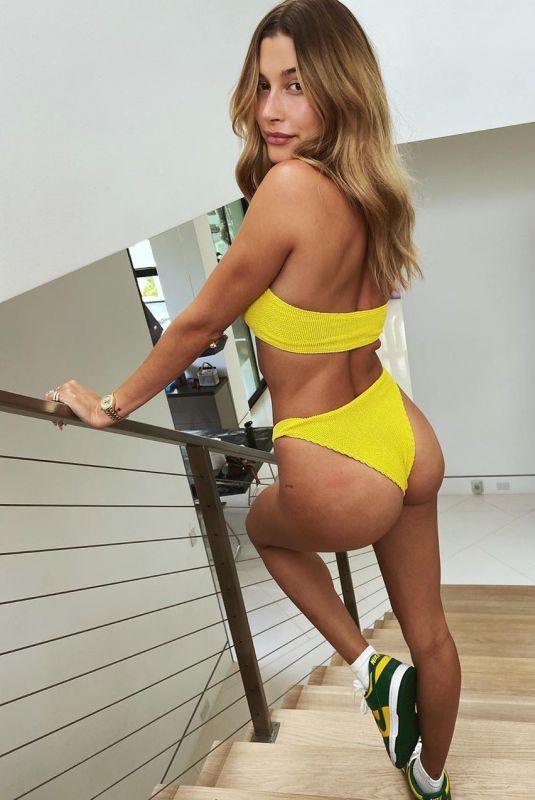 HAILEY BIEBER in Bikini – Instagram Photos 08/23/2020