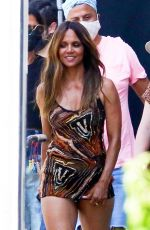 HALLE BERRY at a Photoshoot in Los Angeles 08/17/2020