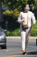 HANNAH ANN SLUSS Out and About in Los Angeles 08/10/2020