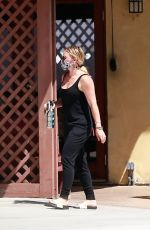 HILARY DUFF Out in Studio City 08/29/2020