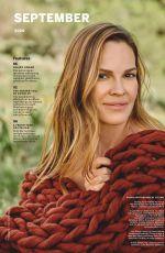 HILARY SWANK in Sealth Magazine, September 2020