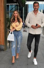 HOLLY HAGAN at The Ivy in Manchester 08/14/2020