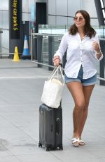 IMOGEN THOMAS at Gatwick Airport 08/06/2020