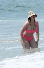 ISKRA LAWRENCE in Bikini at a Beach in Malibu 08/23/2020