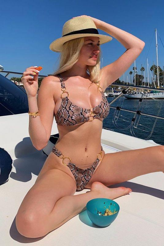 JACKIE R. JACOBSON in Bikini – Instagram Photos 08/02/2020
