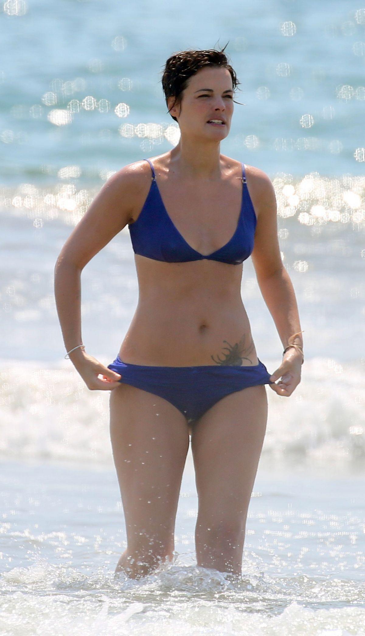 JAIMIE ALEXANDER in Bikini at a Beach in Malibu 08/17/2020 - HawtCelebs
