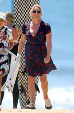 JANE KRAKOWSKI at a Beach in The Hamptons 07/30/2020