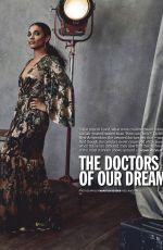 JANET MONTGOMERY and FREEMA AGYEMAN in Emmy Magazine, August 2020
